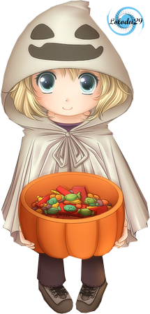 render , manga , halloween , kawaii