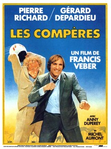 BOX OFFICE FRANCE 1983 LES COMPERES AFFICHE