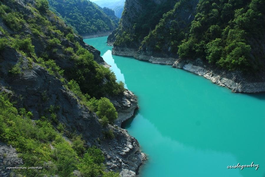 Autour du Lac De Monteynard (Isère)