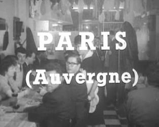 11 décembre 1963 / LES AUVERGNATS DE PARIS