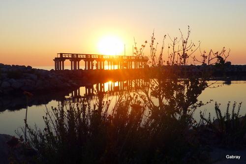 Soleil du matin à Leucate