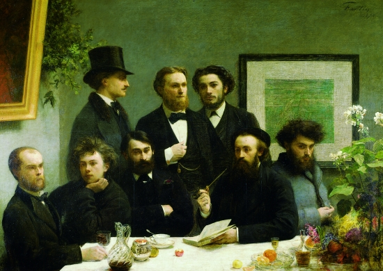 Henri Fantin-Latour, <i>Un coin de table</i>