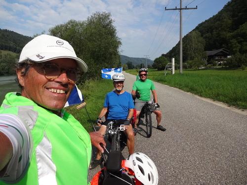 Mercredi 18 juillet Passau - Linz