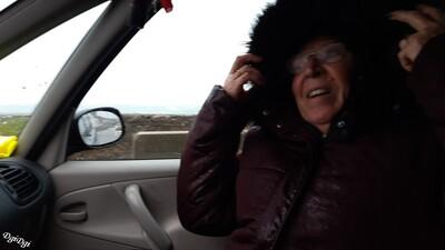 Coup de vent à Dielette