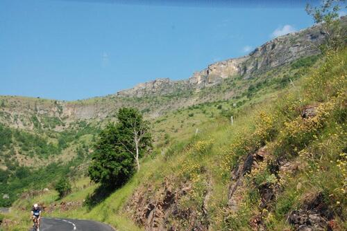 Des paysages durant notre montée