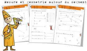 Géométrie et mesure sur les segments: exercices