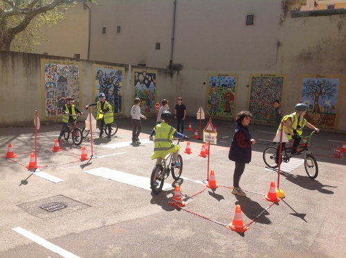 Sécurité routière Permis cycliste et piéton