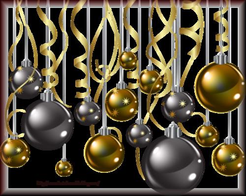 Tube Boule de Noël 2974