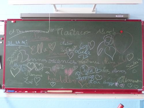 Souvenir de ma classe 2012-2013