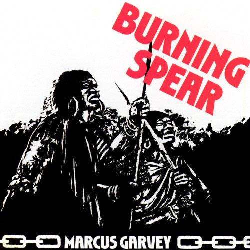 "Burning Spear : Album "" Marcus Garvey "" Island Records ILPS 9377 [ UK ] en 1975"