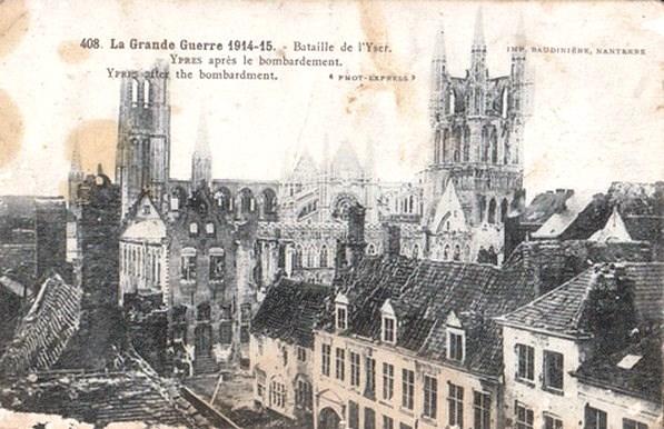 Les combats livrés par les Belges du 4 août au 10 octobre 1914.