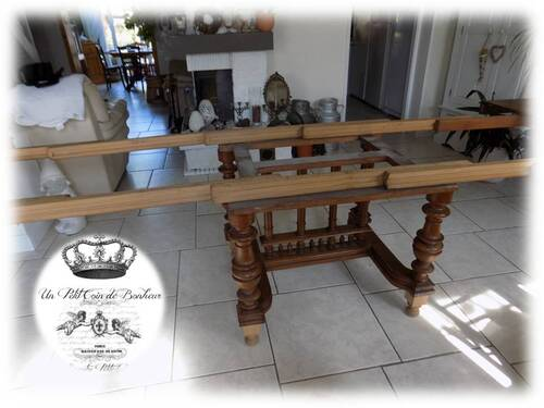 Renovation d'une grande table