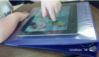 iPad binder