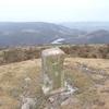 Borne frontière numéro 9 (574 m), au sommet du Mandale ou Faringaïna
