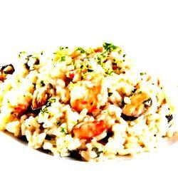 Recette: Risotto avec mélange « moules et crevettes»