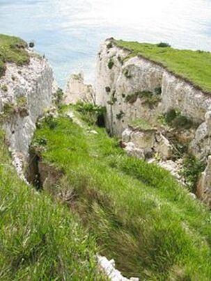 * Les falaises de Douvres