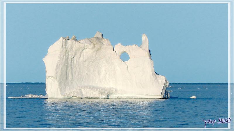 Quelques beaux icebergs ... Baie de Disko - Ilulissat - Groenland