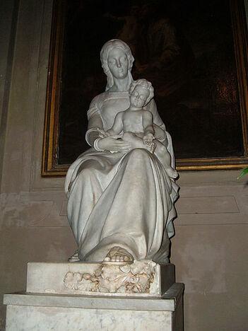File:Campo Marzio - Vergine di Betharram Chiesa NS dei Miracoli.JPG