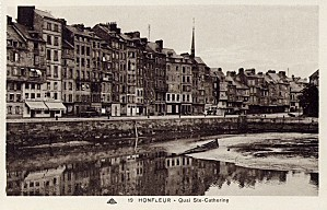 Honfleur - quai Ste