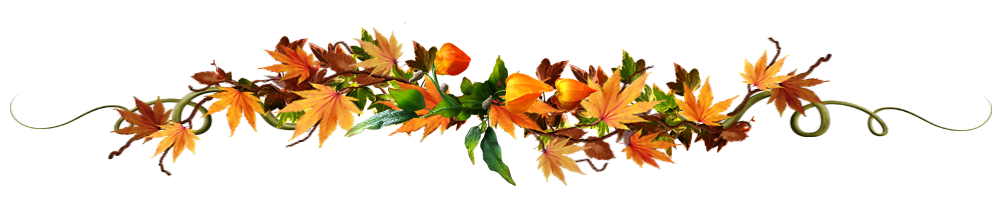 feuilles  et Halloween