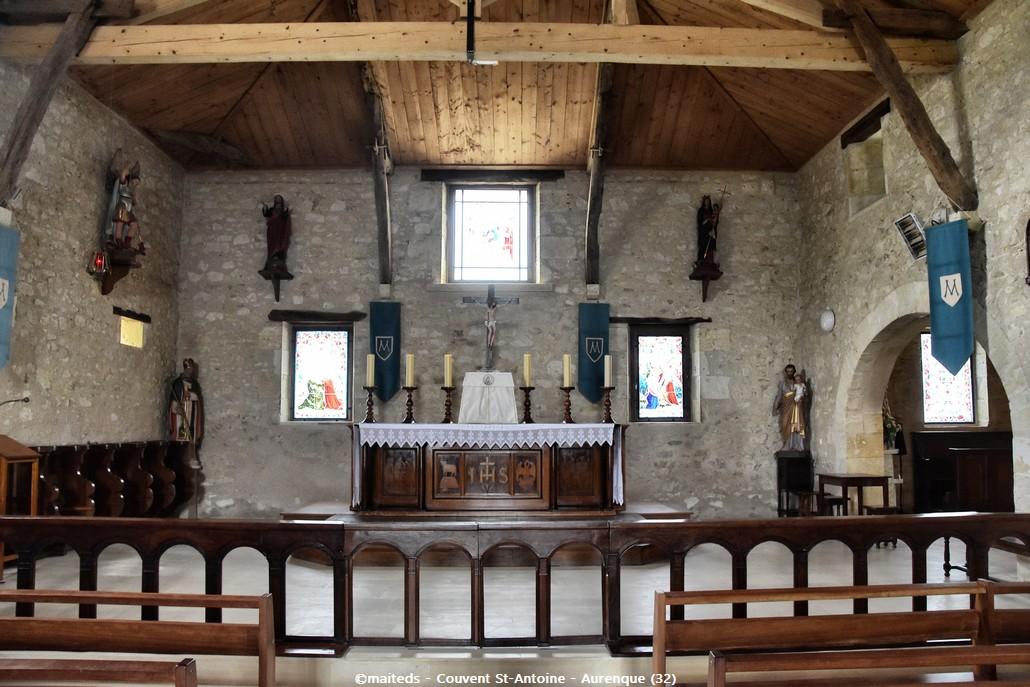 Couvent Saint-Antoine - Aurenque (Gers)