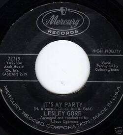Lesley Gore : It's My Party (1963)