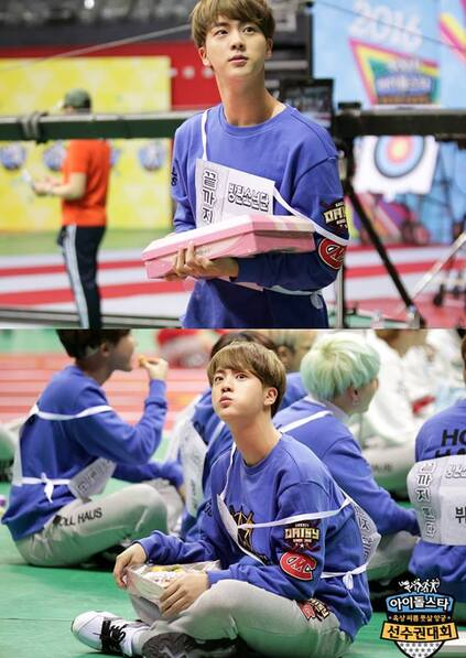 18/01/2016 MBC Idol Star Athletics Championship Jin