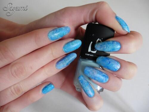 Nail Art - Marbré