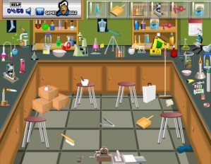 Hidden objects - Science lab