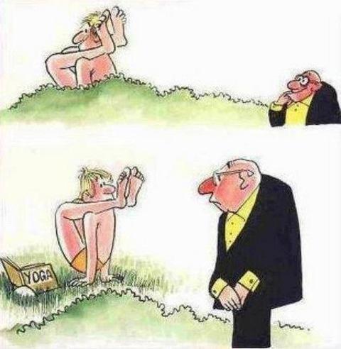 Coups de cœur Yoga humour