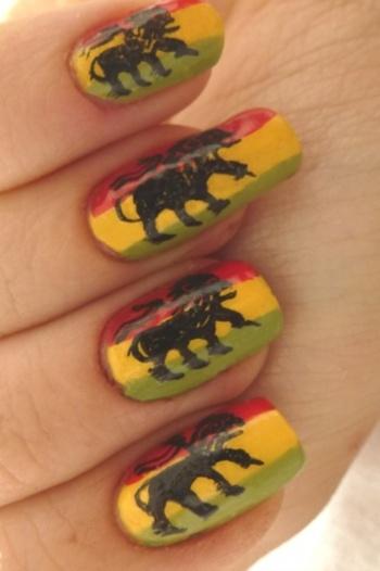 Je montre mes anciens nail art !