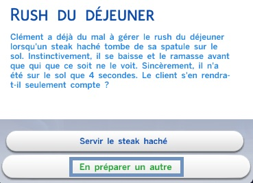 """Métier pour adolescents : """"Fast-food"""""""
