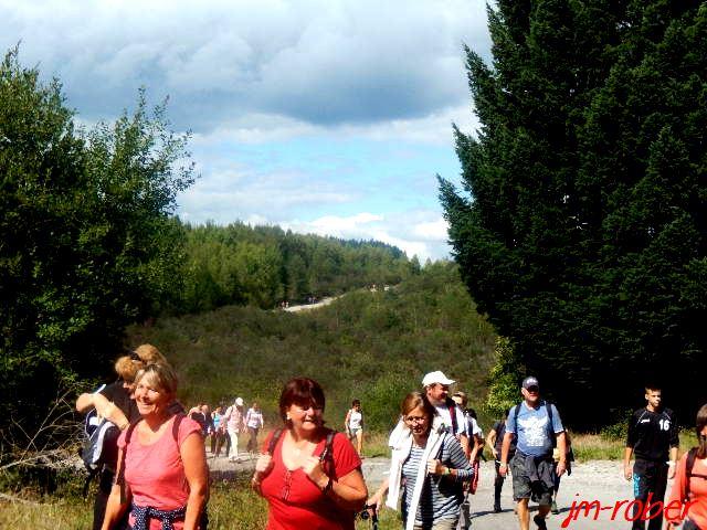 Haute-Vienne: Randonnez-vous 2015 ,un succès et un dimanche de fête pour tous les marcheurs
