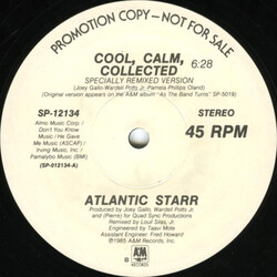 Atlantic Starr - Cool, Calm, Collected
