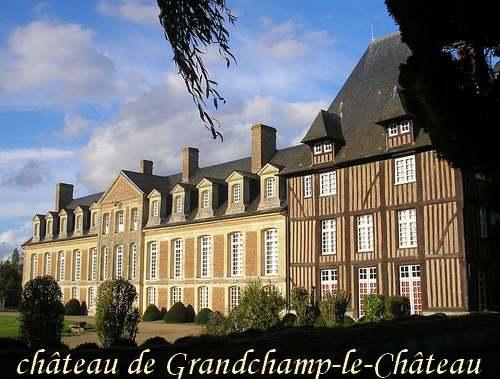 Circuit Touristique : Châteaux et manoirs du Pays d'Auge.