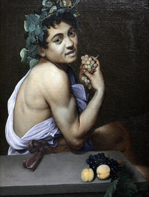 Le Jeune Bacchus malade - Le Caravage