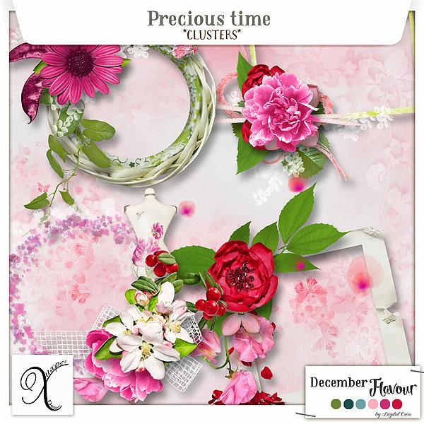 Precious time Clusters de Xuxper Designs
