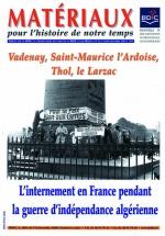 Sylvie Thénault - L'internement en France pendant la guerre d'indépendance algérienne