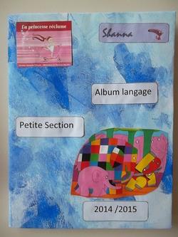 Nos couvertures de l'album langage