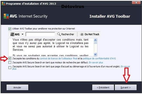 AVG Internet Security 2013 - Licence 1 an gratuit