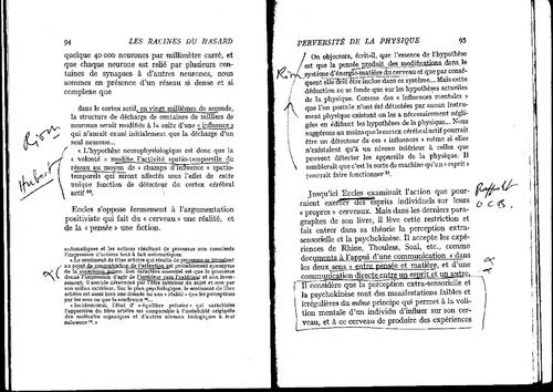 """Arthur KOESTLER """"Les racines du hasard"""" pages 67, 89 à 96 et 156"""