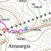 Itinéraire Murrutchipia carte idena.navarra.es