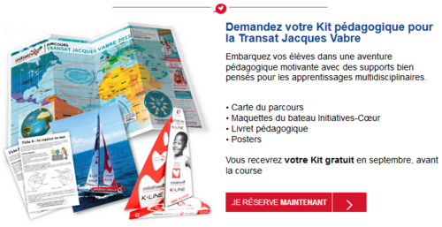 Kit Transat Jacques Vabre