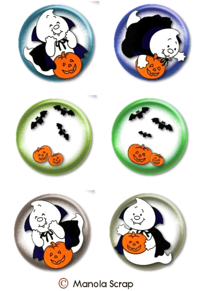 Boutons d'Halloween page 1