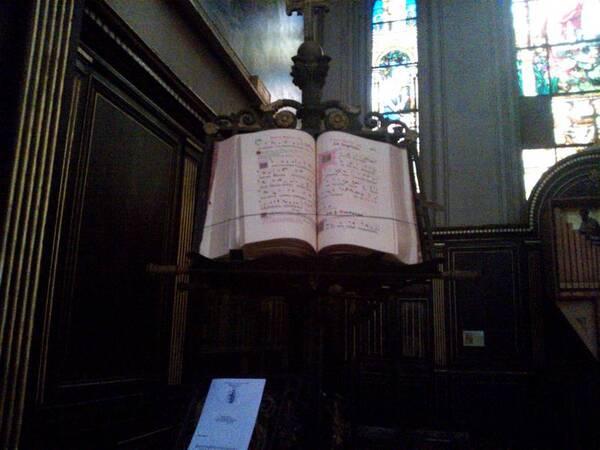 Saint-Gervais à Paris -lutrin