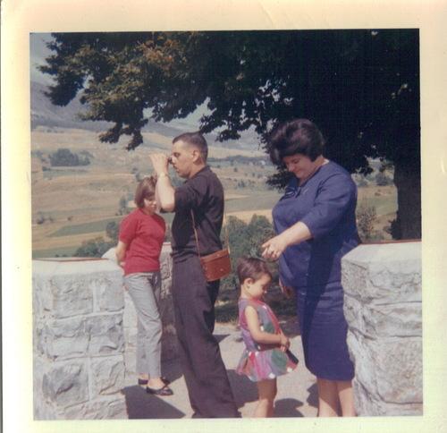 vacances 1964 cote d'azur