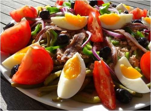 Recette de cuisine : Salade Niçoise
