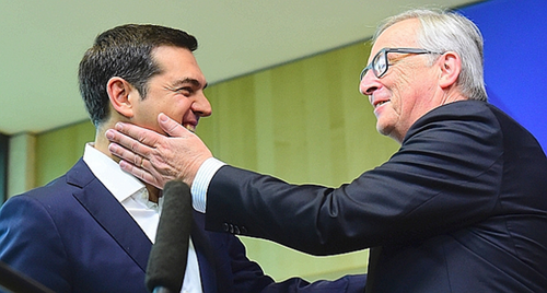 La capitulation de Tsipras