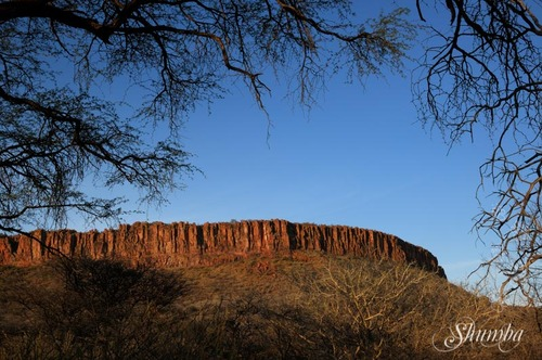 Over the cliffs - Waterberg Plateau NP