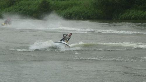Jet ski sur la Moselle